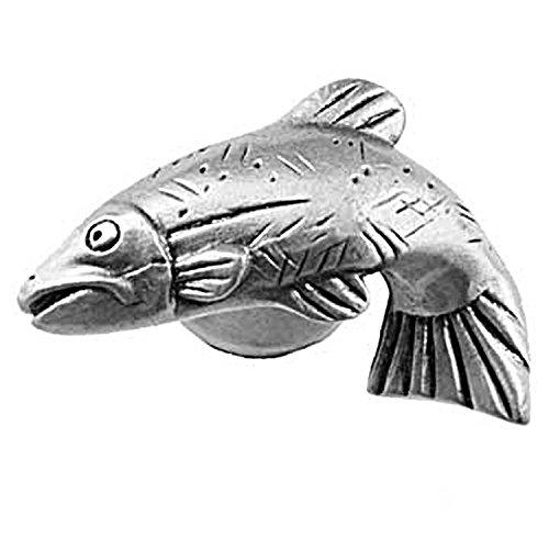 Sierra Lifestyles SL-681337 Pewter R Fish Cab Knob