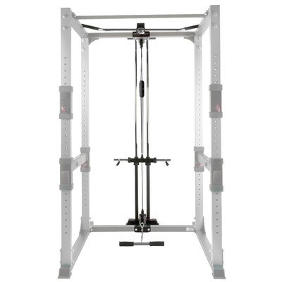 BodyCraft F431 Lat / Low Row Attacment for Power Rack by Bodycraft