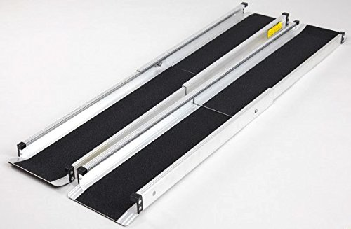 Pair Of Telescopic Loading Ramps For Van Trailer Car Extendable