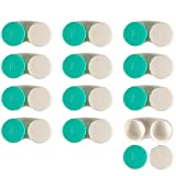 Contact Lens Case – Bulk Eye Lense Storage Container, 12 Pack of Colored Leak Proof Holders