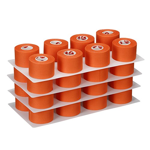 Cramer Team Color Athletic Tape for Ankle, Wrist, and Injury Taping, Helps Protect and Prevent Injuries, Promotes Faster Healing, Athletic Training First Aid Supplies, 1.5'', Bulk 32 Roll Case by Cramer (Image #3)