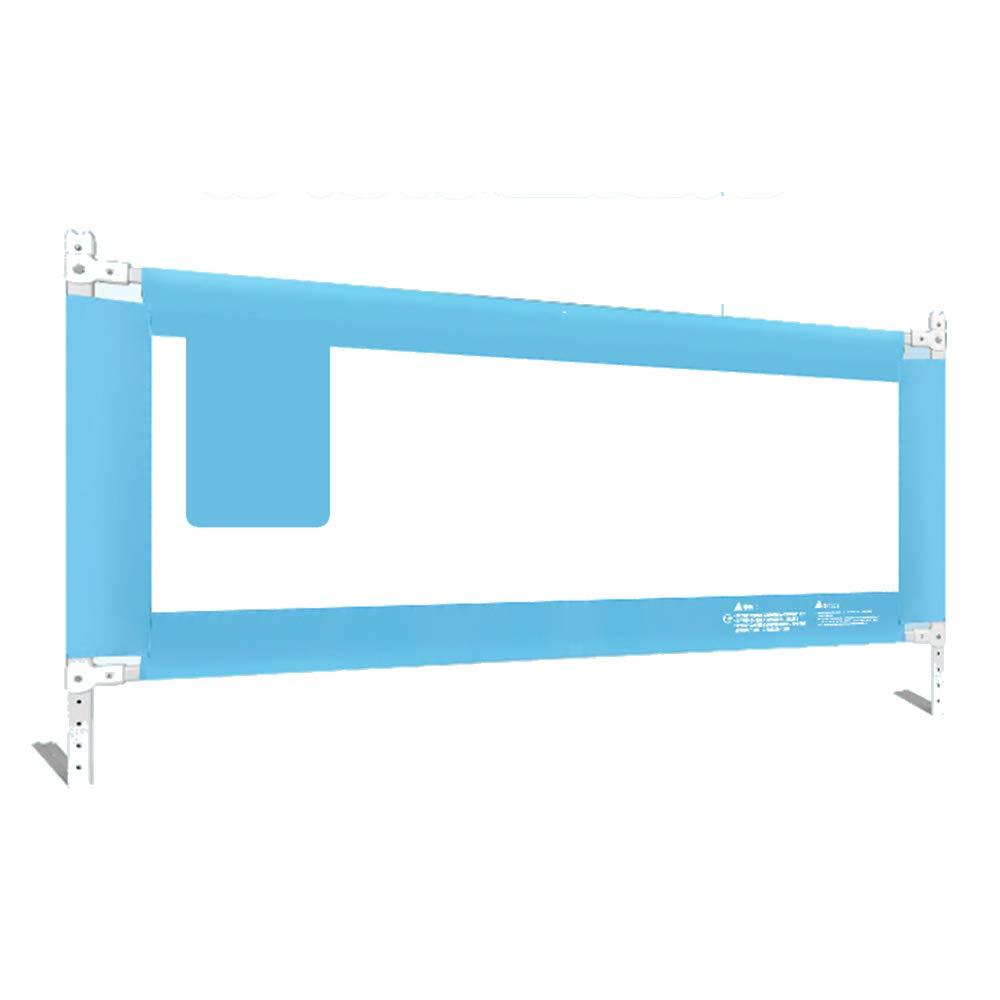 XIAOMEI,安全フェンス 垂直リフトベッドレール、防滴フェンス、ユニバーサルバッフル(パウダー、ブルー)-150cm、180cm、200cm ベッドの手すり (色 : 青, サイズ さいず : 200cm) 200cm 青 B07L8DKSJ6