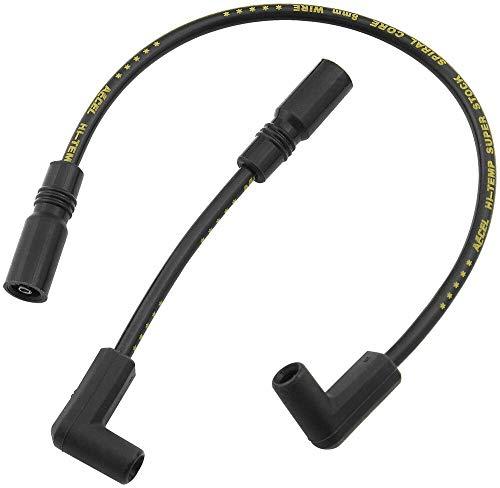 (Spark Plug Wire Black 171097-K Accel, Compatible With S/S Ferro-Spiral Core)