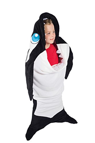 Children's Orca Costume (Wild Things Titan Orca Whale Climb-in Blanket by Fin Fun)