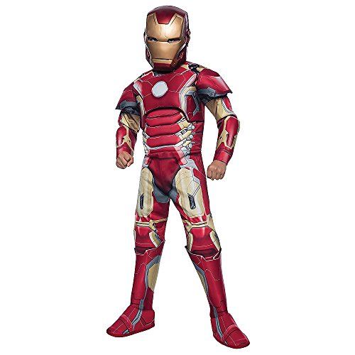 Halloween Resource Center, Inc. Deluxe Iron Man Child Costume - Small