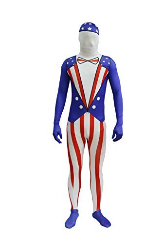 361b4dc09295 Amazon.com  Capital Costumes American Flag Costume  Toys   Games