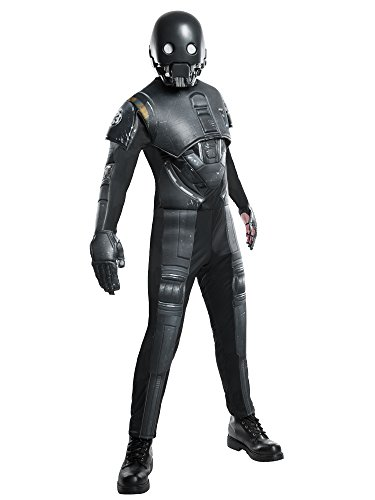 Rogue One: A Star Wars Story Men's Deluxe K-2SO Costume, Multi, Standard ()