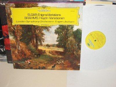 EUGEN JOCHUM/ LSO Elgar Enigma /Brahms Haydn varations LP DGG 2530 586 German