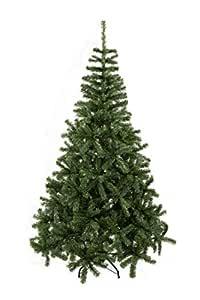 GOJOOASIS 6' Artificial Christmas Tree Premium Spruce Hinged with Metal Stand Eco-Friendly Xmas Pine Tree Green