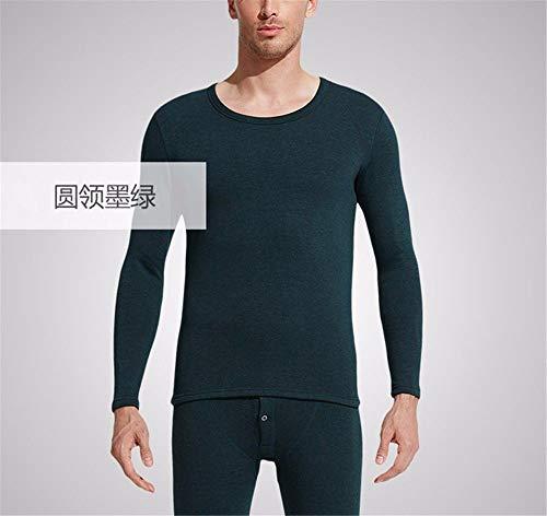 xxxl Continentale Intimo A Pantaloni Ispessimento T Lunghe Maniche Semplice M shirt Uomini O Di Signori Cashmere Ymfie gqHwZpff
