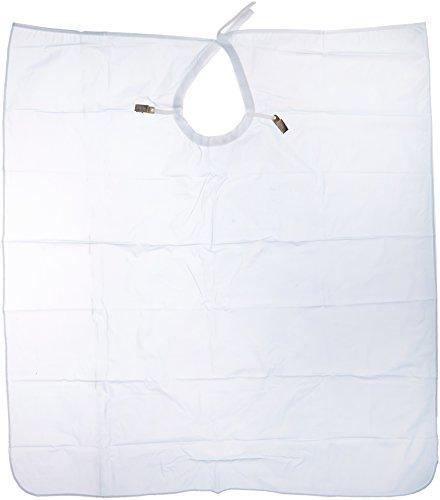 - Crosstex NP3BL Plastic Patient Barrier Apron, Waist Length, 27