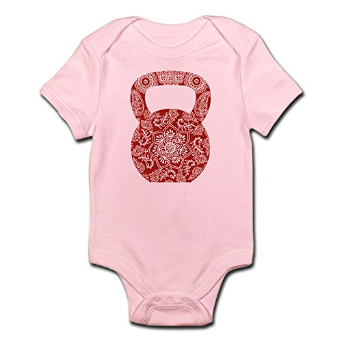 CafePress Henna Kettlebell Cute Infant Bodysuit Romper product image