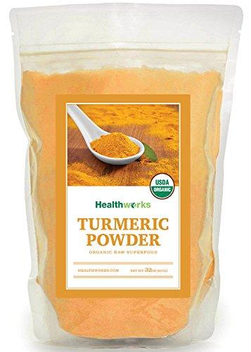 Healthworks Turmeric Root Powder (Curcumin) Organic, 2lb