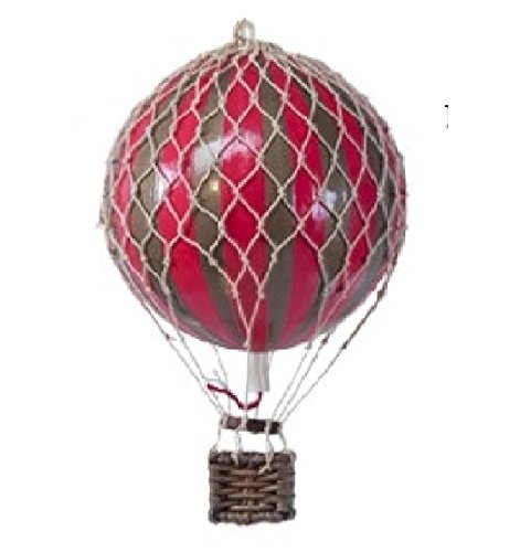 hot air balloon model red - 6