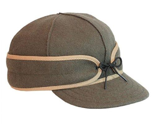 (Stormy Kromer Mens Original Wool Cap,Olive,7.875)