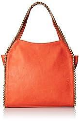 BIG BUDDHA Grayson Shoulder Bag, Coral, One Size
