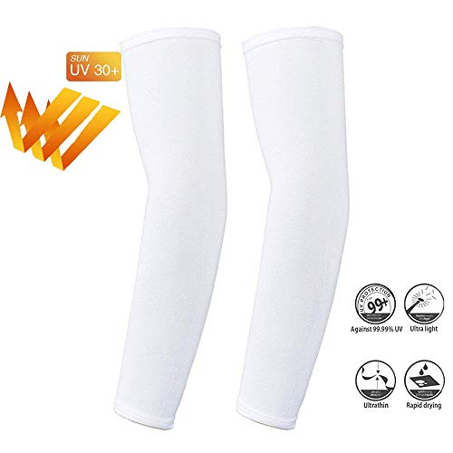 Letopro Arm Sleeves UV, Cooling Anti-UV Sun Protection Long Sleeve,...