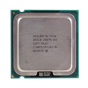 Intel Core 2 Duo E7400 2.8GHz 1066MHz 3MB Socket 775 Dual-Core - Dual Intel Core Duo