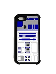 iPhone 5 Case - UltraShell iPhone 5 Case - 2 Piece TPU Plastic Protective Case - R2D2 by mcsharks