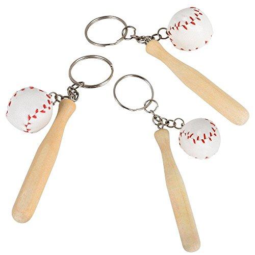 Rhode Island Novelty Baseball Keychains