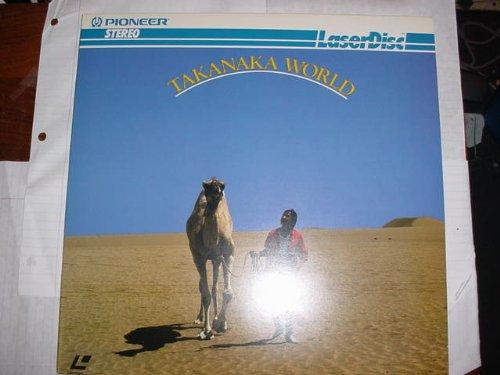 - Laser Disc, Laserdisc of TAKANAKA WORLD a Music Video of Masayoshi Takanaka with 8 Songs.