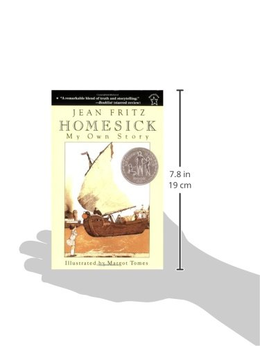 Homesick Novel Jean Fritz 9780698117822 Amazon Com Books