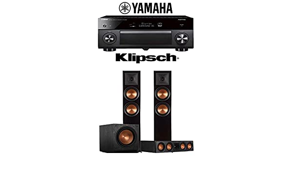 Yamaha AVENTAGE RX-A3080 9.2-Channel 4K Ultra HD Network AV Receiver Klipsch RP-404C Klipsch RP-6000F Klipsch SPL-120-3.1-Ch Home Theater Package