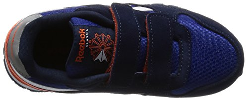 Reebok Unisex Baby Gl 3000 2v Sneaker Blau / Orange / Grau (Team Dark Royal/Navy/Energy Orange/Steel)