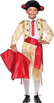 VENEZIANO Disfraz TORERO MANOLETE BEB Vestido Fiesta de Carnaval Fancy Dress Disfraces Halloween Cosplay Party 50711 Size 5: Amazon.es: Juguetes y juegos