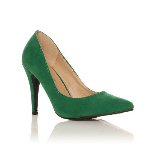 Stilleto Swedine Vert Haute Darcy Talon Stilleto Escarpin Pointu Swedine 1rEwq16S