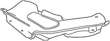 Genuine Nissan Air Inlet Duct 16554-4CL0D