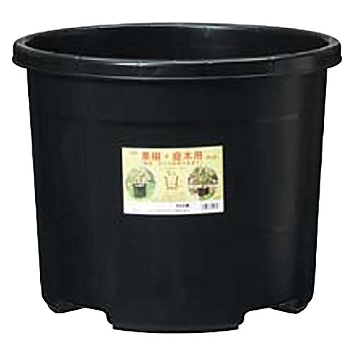 【個人宅配送不可】【30個入】 NPポット #45 ブラック φ480×380Hmm 45L 果樹 庭木用 鉢 プランター DICプラスチック 日A代不 B01HHQ35TW