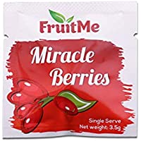 Miracle Berry Fruit Tablets Single Serve x 3