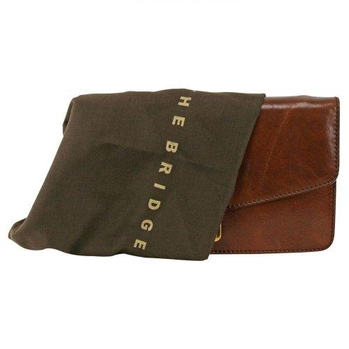 The Bridge Story Uomo portafoglio sacchetto borsa polso pelle 25 cm Braun En Venta 2018 3ibA2