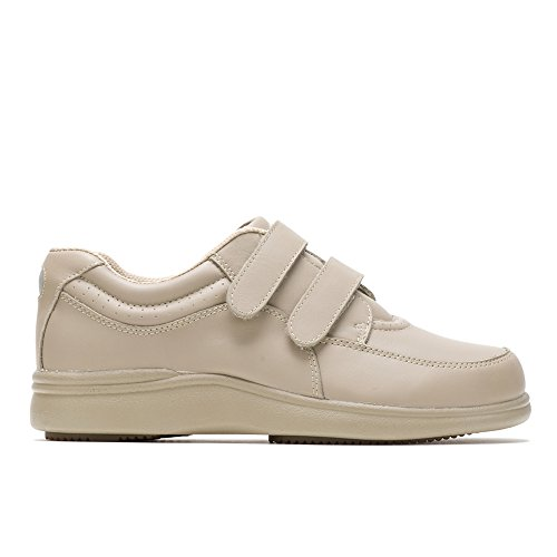 Hush Puppies Power Walker II Womens Walking Shoes Taupe Leather 7