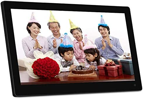 Black Consumer Electronics 15.6 inch 1920 x 1080 16:9 LED Full HD Widescreen Suspensibility Digital Photo Frame with Holder /& Remote Control Support SD//MicroSD//MMC//MS//USB Flash Disk