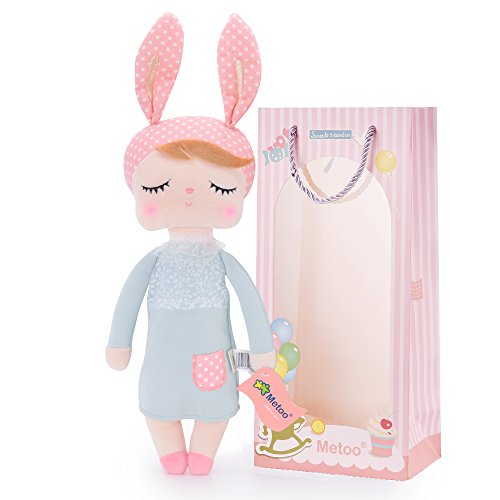 Me Too Baby Dolls Girl Gifts - Stuffed Bunny Plush Rabbit Toys12 inches … -