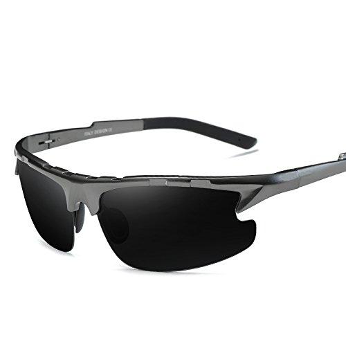 El Gafas Gafas Para De Conducir Gafas Día LLZTYJ Decoración Noche Hombres Gafas Gafas De Visión De Y Para Antiligas La Sol Polarizadas Conducción gray black and Gafas Nocturna Sol A Sol Para V De De Regalos De Día San zddwqO