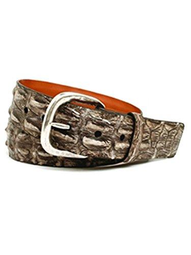 Trafalgar Bone Richmond Genuine Australian Hornback Crocodile Belt ()