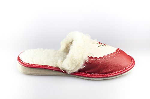 BTS–calientes–Con forro Mule Zapatillas talla 3,5–