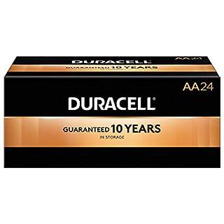 Duracell 2768001 Coppertop AA Alkaline Batteries 24/Pack (MN1500BKD)