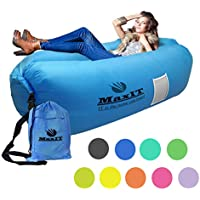 MaxIT Inflatable Lounger Hammock Air Sofa Water Proof...