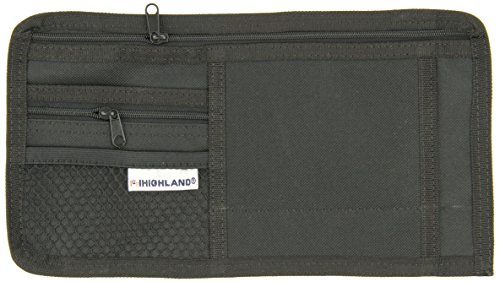 Highland 1933300 Sunglass Visor Organizer, Black