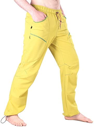 "Ucraft ""Xlite Rock Climbing Bouldering and Yoga Pants. Lightweight Stretchy Trousers"