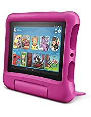 All-New Amazon Fire 7 Kids Edition Tablet, 16 GB, Pink with free Kid-Proof Case
