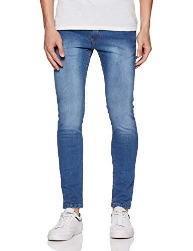 Amazon Brand – Symbol Men's Stretch Skinny Jeans (AD-SK-471_Medium blue3_34)