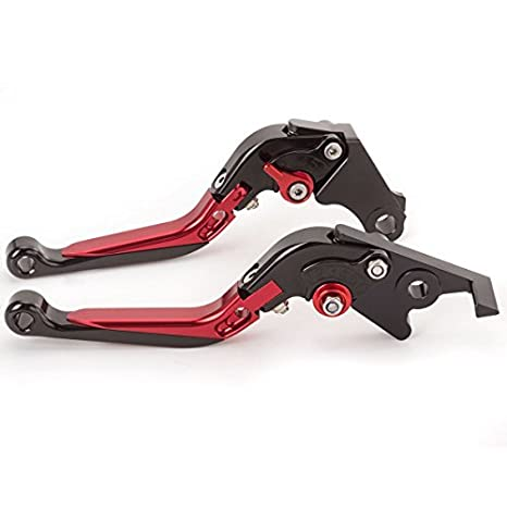 Amazon.com: FXCNC Racing Billet Folding Extendable Adjustable Brake Clutch Levers set Pair fit for YAMAHA YFM700 Raptor 700R 2007-2018: Automotive