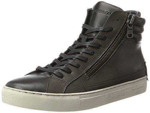 Crime London 11334a17b, Sneaker a Collo Alto Uomo Grigio (Grau)
