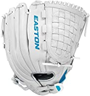 """EASTON Ghost Tournament Elite Fastpitch Softball Glove, 12.75"""", LHT, Outfield Pattern, H Web, GTEF"""