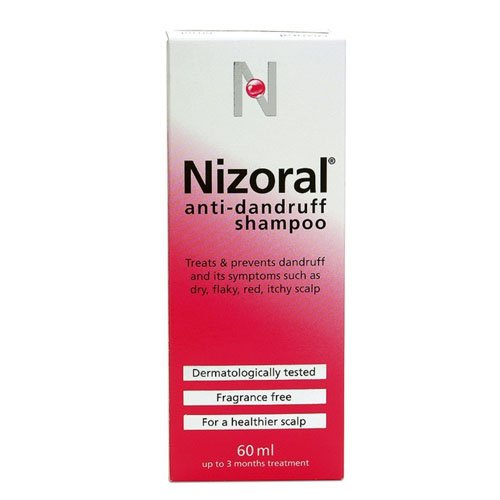 Nizoral Anti Dandruff Shampoo, 60 ml